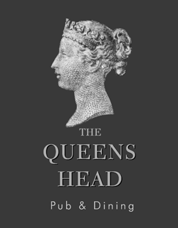 Queen's Head, Crowmarsh logo