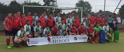 WHC Mens 1st XI take on Hockey for Heroes team