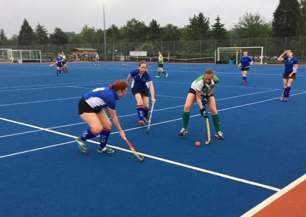 Ladies Summer League action - 29th May 2018